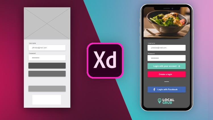 User Experience Design - Learn the UX UI Process & Adobe XD Course