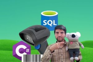 Using Barcode Scanner in C# and SQL, SQL Server Database Course