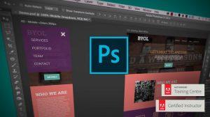 Adobe Photoshop CC - Web Design, Responsive Design & UI - Course