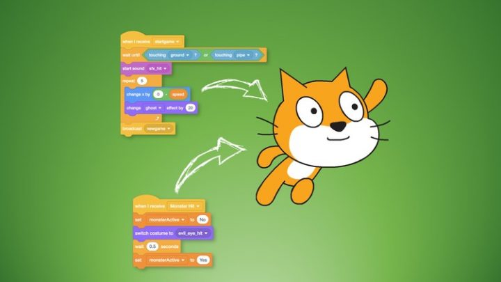 Programming for Kids and Beginners: Learn to Code in Scratch Course Now with Scratch 3.0: learn to program, create games, have fun in Scratch! For kids and beginners, parents and teachers!