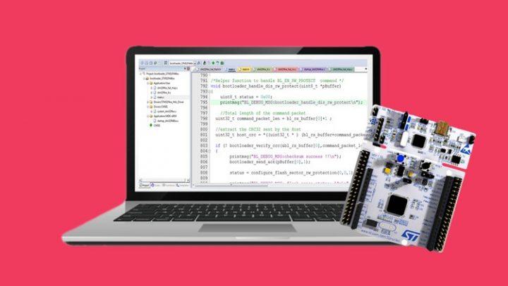 STM32Fx Microcontroller Custom Bootloader Development -Course For Free