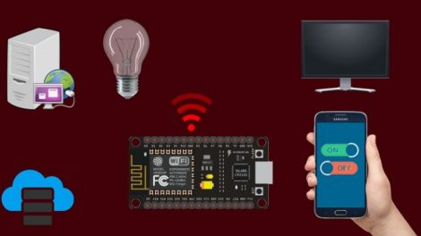 ESP8266 for the absolute beginner - Arduino alternative 2019 Course For Free | Build IoT web application, LCD pattern, Physical Input, GPIO Interfacing