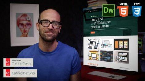 Responsive Design HTML CSS Web design - Dreamweaver CC Course For Free   Learn HTML5 & CSS3 web design skills. Build beautiful responsive design websites