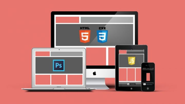 PSD to Responsive HTML5: Beginner to Advanced Course For Free Learn modern web development and convert a photoshop design to a responsive animated HTML5 and CSS3 website from scratch