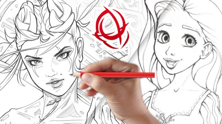 Character Art School: Complete Character Drawing Course For Free Learn How to Draw People and Character Designs Professionally, Drawing for Animation, Comics, Cartoons, Games and More!