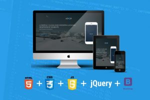 Build Responsive Website Using HTML5, CSS3, JS And Bootstrap Course Catalog