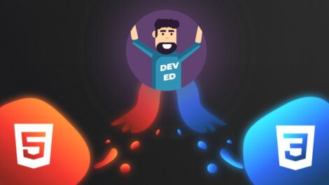 The Creative HTML5 & CSS3 Course - Build Awesome Websites - Course For Free Learn HTML5 and CSS3 by creating 3 amazing, well-designed, and animated websites from scratch!