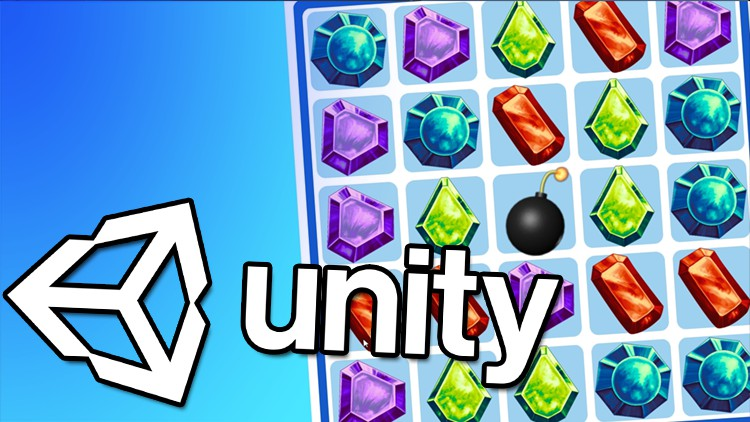 Learn To Create a Match-3 Puzzle Game in Unity Game development made easy. Learn C# using Unity and create your own puzzle game!