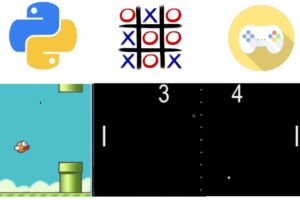 Learn Python By building Games in Python Learn to code In Python by Develop & Build Games in Python, Python Basics, Python OOP, Python Games Projects
